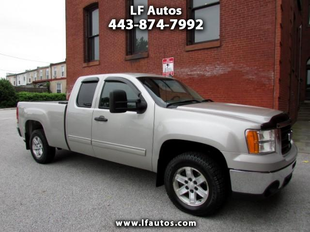 2009 GMC Sierra 1500 SLE Ext. Cab Long Bed 4WD