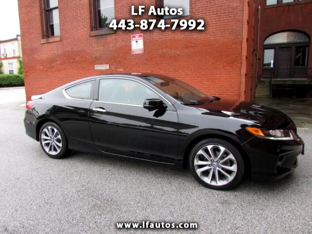 2014 Honda Accord EX-L V6 Coupe AT with Navigation