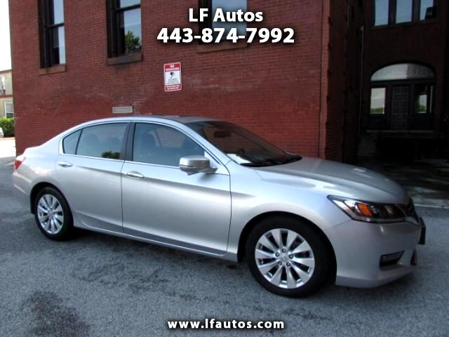 2014 Honda Accord EX-L Sedan AT with Navigation