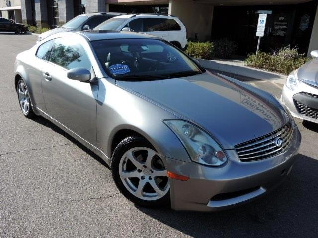 used 2004 infiniti g35 coupe for sale in phoenix az 85027 101 auto outlet. Black Bedroom Furniture Sets. Home Design Ideas