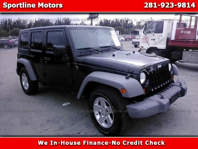 2010 Jeep Wrangler Unlimited X