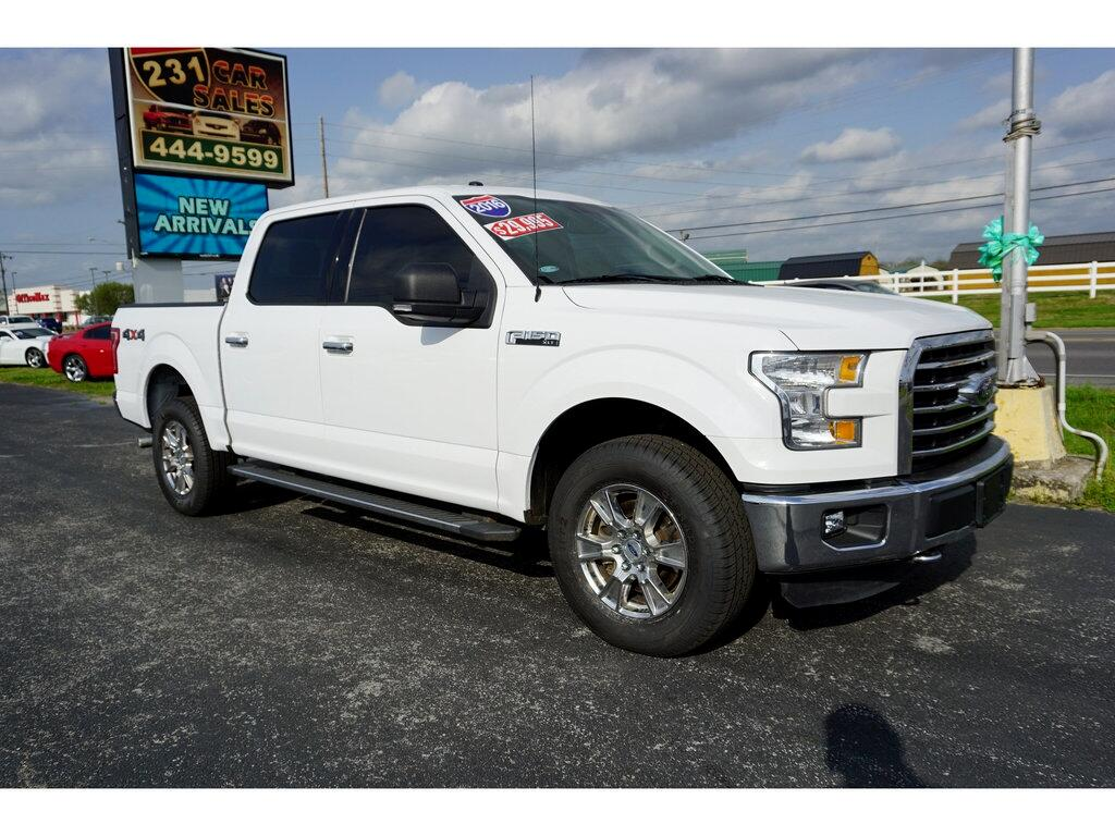 2016 Ford F-150 Supercrew XLT 4WD 5.0L
