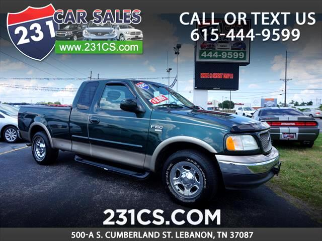 2002 Ford F-150 Supercab 139 Lariat