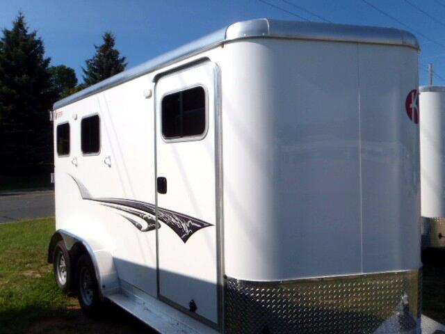 2016 Kiefer Manufacturing 2 Horse BP Genesis 2H Slant