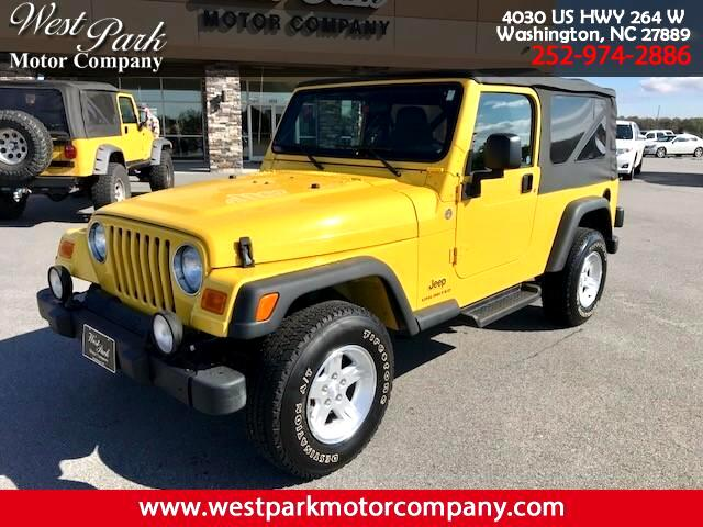 2006 Jeep Wrangler Unlimited 4WD 4dr Sport