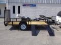 2013 Sure-Trac Tube ATV Utility Trailer