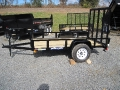 2014 Sure-Trac Angle Iron Utility Trailer