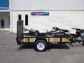2014 Sure-Trac Tube Top Utility Trailer