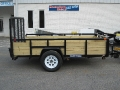2014 Sure-Trac 3 Board Tube Top Utility Trailer
