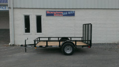 2017 Diamond C Utility Trailer