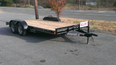 2018 Diamond C Car Trailer