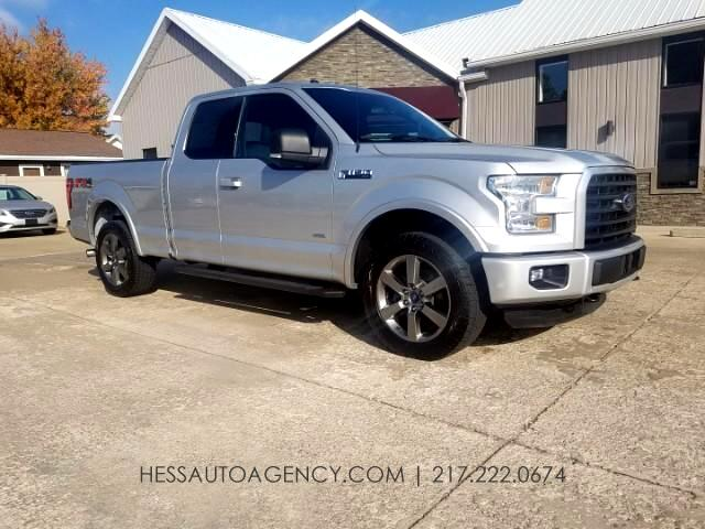 2015 Ford F-150 XLT FX4 SuperCab 4WD