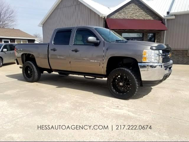 2012 Chevrolet Silverado 2500HD LT Crew Cab Lifted 4WD
