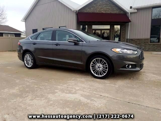 2015 Ford Fusion SE Luxury AWD