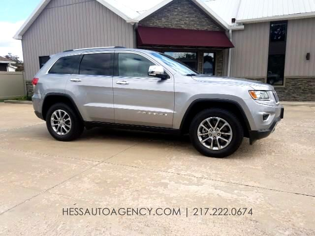2014 Jeep Grand Cherokee Limited 4WD EcoDiesel