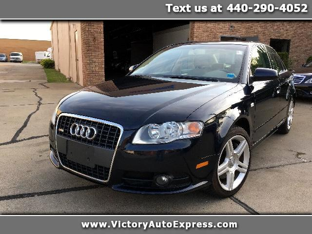 2008 Audi A4 2.0 T quattro with Tiptronic