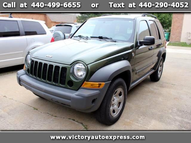 2007 Jeep Liberty 3.7L 4WD