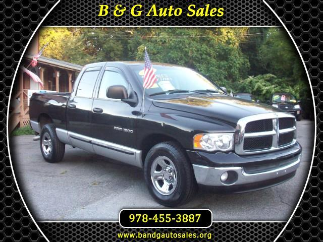 2003 Dodge Ram 1500 SLT Plus Quad Cab Long Bed 2WD