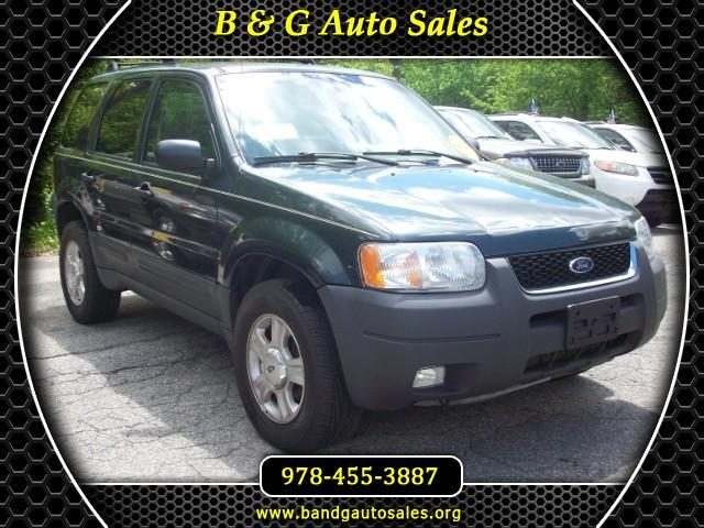 2003 Ford Escape XLT Sport 4WD