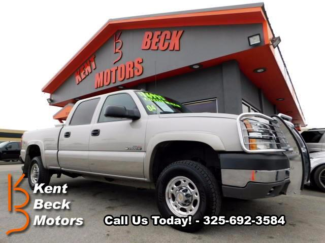 2004 Chevrolet Silverado 2500HD LT Crew Cab Short Bed 4WD