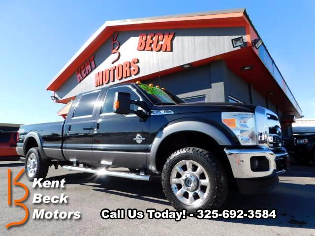 2014 Ford F-350 SD Lariat Crew Cab Long Bed 4WD
