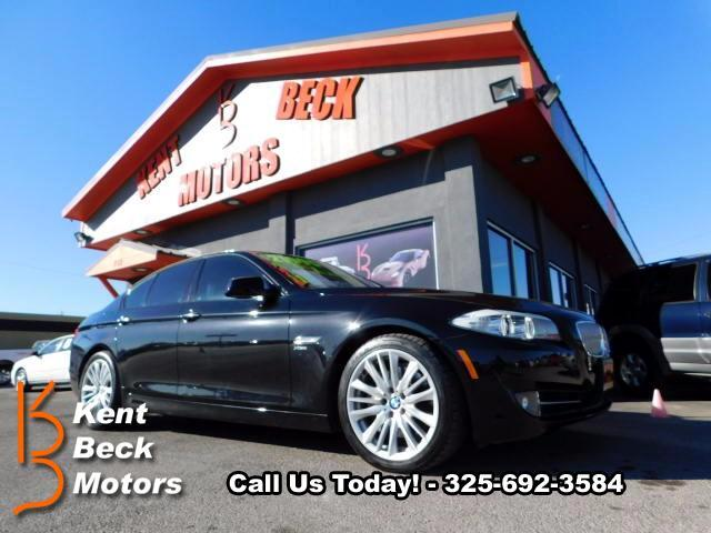 2011 BMW 5-Series 550xi