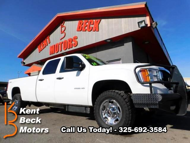 2014 GMC Sierra 2500HD Work Truck Crew Cab Long Box 4WD