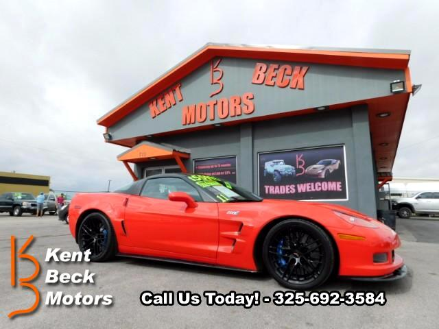 2011 Chevrolet Corvette ZR1 Custom 3ZR