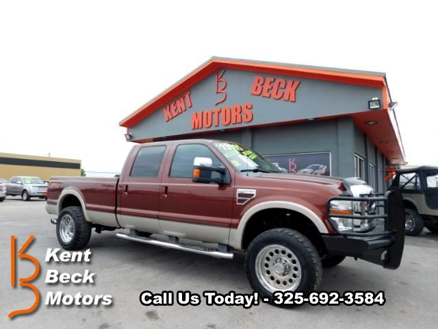 2008 Ford F-350 SD King Ranch Crew Cab Long Bed 4WD