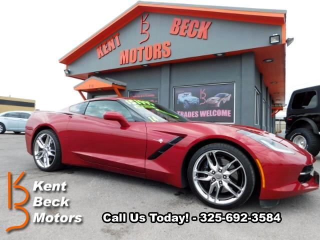 2014 Chevrolet Corvette Stingray Z51 3LT Coupe Automatic
