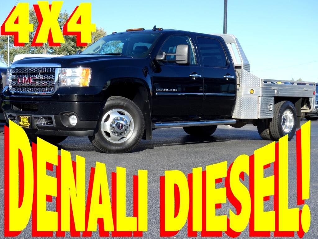 2011 GMC Sierra 3500HD Denali Crew Cab DRW 4WD