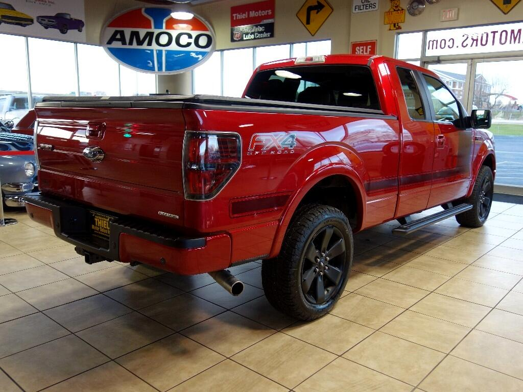 Used 2012 Ford F 150 Fx4 Supercab 6 5 Ft Bed 4wd For Sale