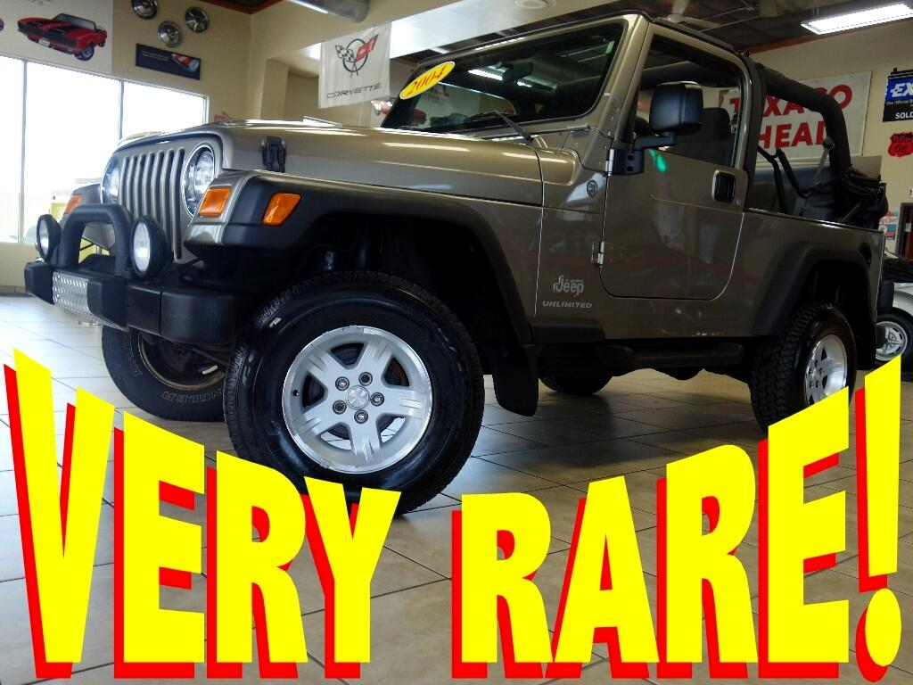 2004 Jeep Wrangler Unlimited 4WD 2DR Sport