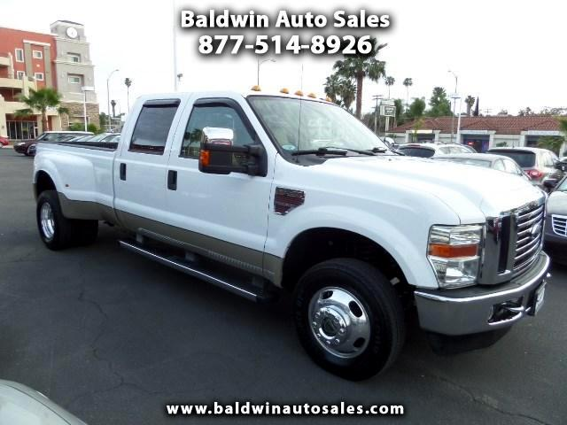 2009 Ford F-350 SD Lariat Crew Cab Long Bed DRW 4WD
