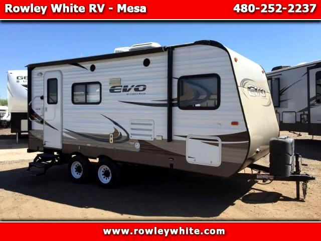 2015 Forest River EVO (Lightweight Travel Trailer) T1850
