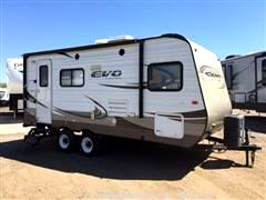 2015 Forest River EVO (Lightweight Travel Trailer)