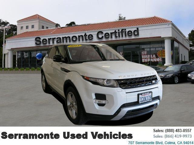 2013 Land Rover Range Rover Evoque Dynamic Sport Utility