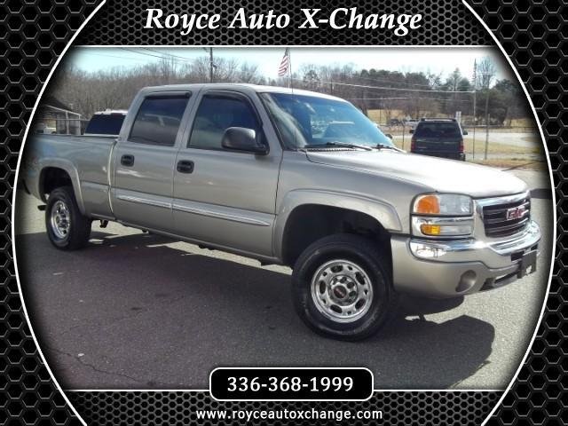 2003 GMC Sierra 1500 HD SLE Crew Cab Short Bed 4WD