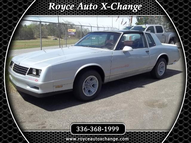 1986 Chevrolet Monte Carlo SS
