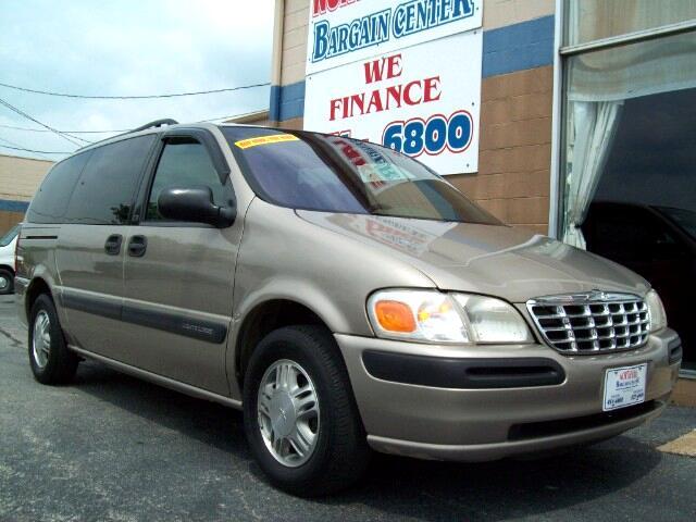 1998 Chevrolet Venture 4-door Extended Cargo Van
