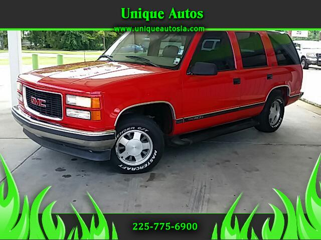 1999 GMC Yukon Visit Unique Autos online at wwwuniqueautoslacom to see more pictures of this vehic