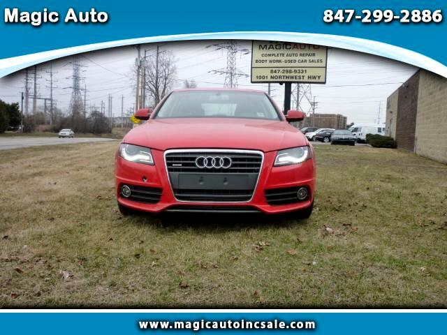 2012 Audi A4 2.0 T quattro with Tiptronic