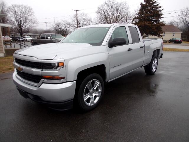2016 Chevrolet Silverado 1500 Custom Double Cab 2WD