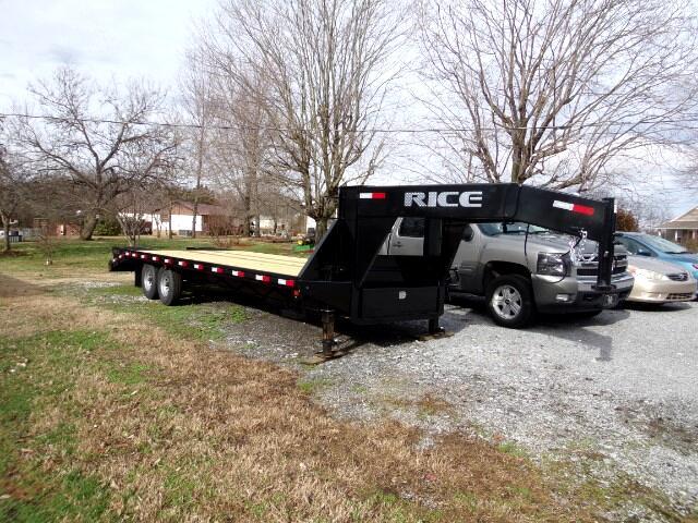 2018 Rice 14K Deckover 25' Gooseneck