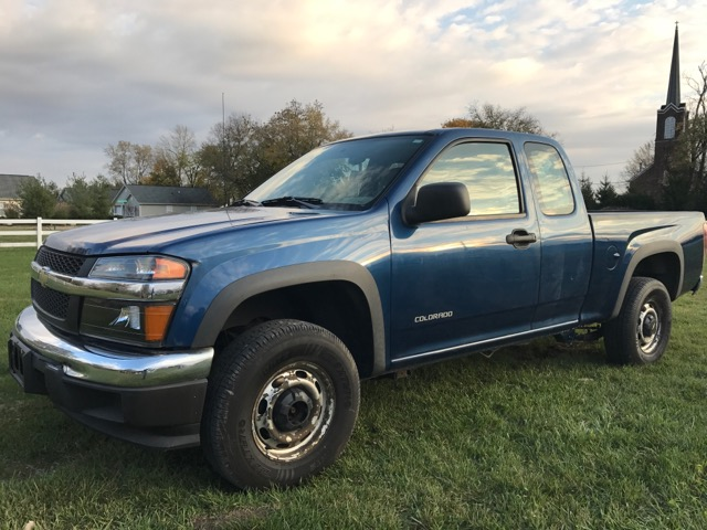 2005 Chevrolet Colorado Z85 Ext. Cab 4WD