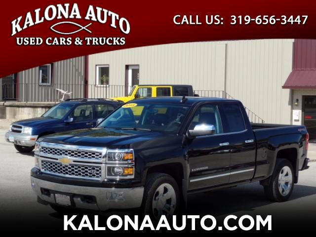 2015 Chevrolet Silverado 1500 LTZ Double Cab Short Box 4WD