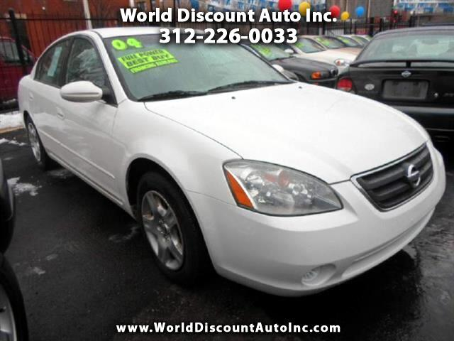 used 2004 nissan altima for sale in chicago il 60015 world discount auto inc. Black Bedroom Furniture Sets. Home Design Ideas