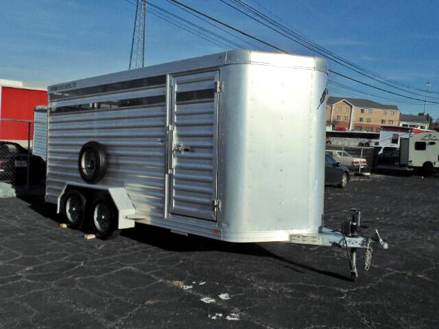 2011 Featherlite Trailers 8107 16Ft Bumper Pull Horse Trailer