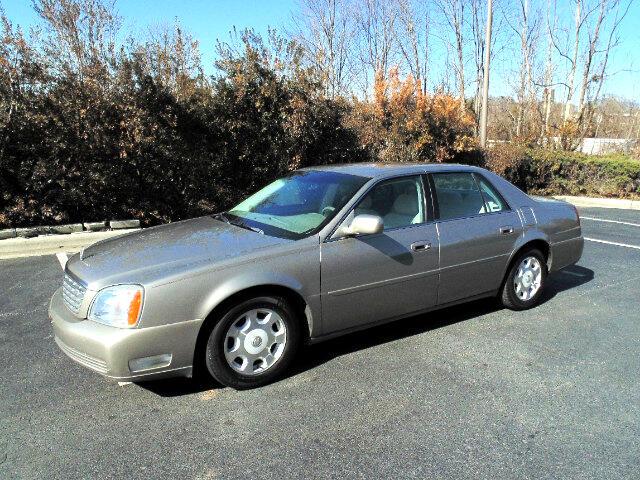 2000 Cadillac DeVille Luxury Sedan