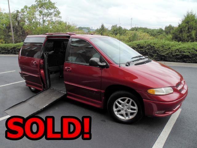 1998 Dodge Grand Caravan Sport Handicapped Van
